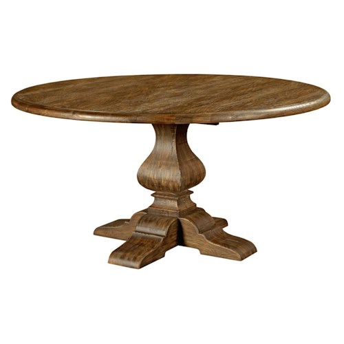 Kincaid Furniture Artisan's Shoppe Dining - Tobacco Traditional 60