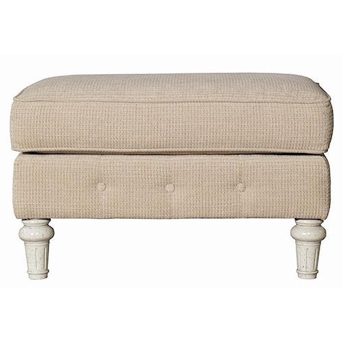 Kincaid Furniture Berkshire Button Tufted Ottoman