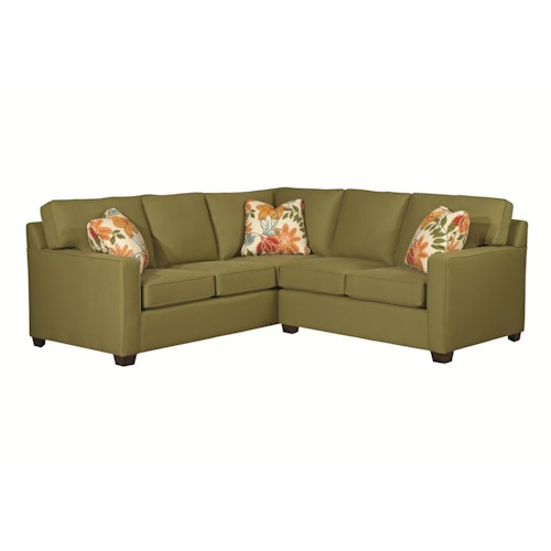 Kincaid Furniture Brooke Two Piece Sectional Sofa