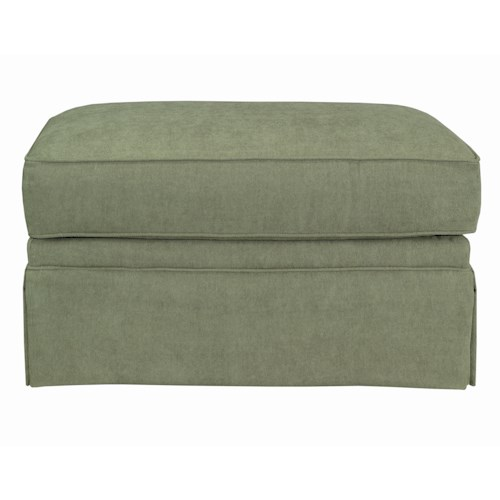 Kincaid Furniture Charlotte Skirted Ottoman