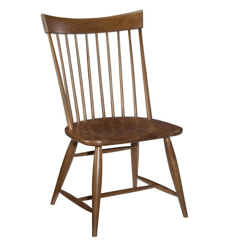 Kincaid Furniture Cherry Park Solid Cherry Windsor Side Chair