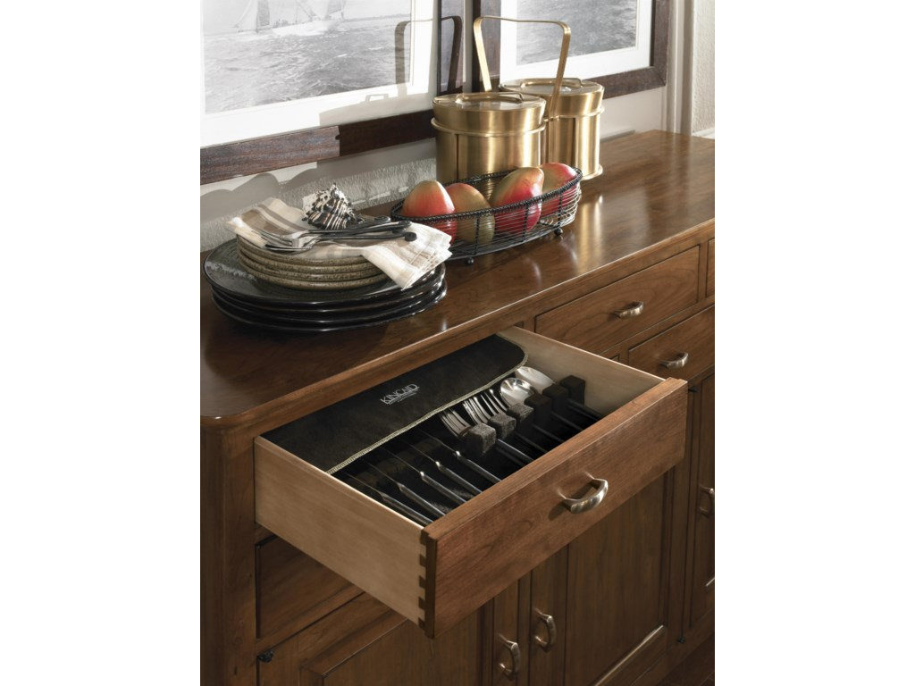 Drawers with Silverware Tray