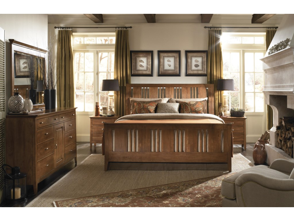 Shown with Door Dresser and Nightstands - Bed Shown May Not Represent Size Indicated