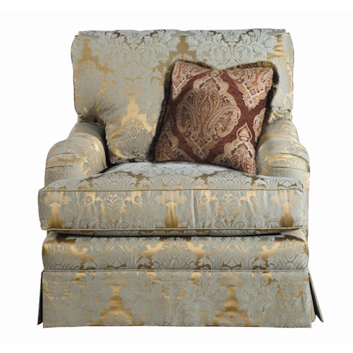 Kincaid Furniture Custom Select Upholstery Custom Upholstered Arm Chair