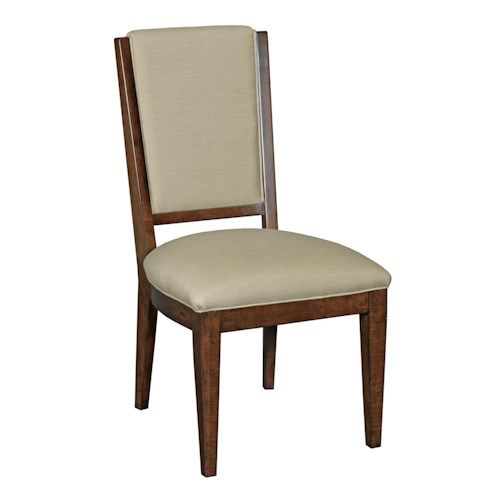 Kincaid Furniture Elise Transitional Spectrum Side Chair with Performance Fabric Upholstery