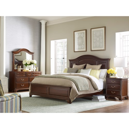 Kincaid Furniture Hadleigh King Bedroom Group