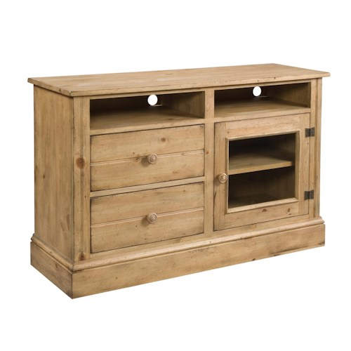 Kincaid Furniture Homecoming Craftsman Entertainment Console
