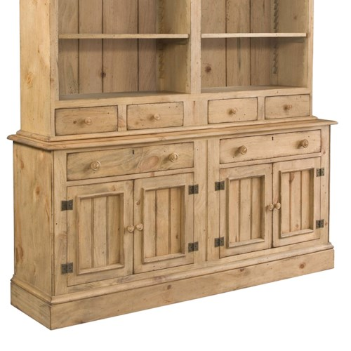 Kincaid Furniture Homecoming Buffet with 4 Pine Doors & 2 Drawers