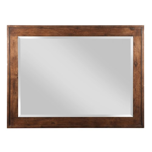 Kincaid Furniture Homecoming Newland Mirror with Beveled Wood Frame