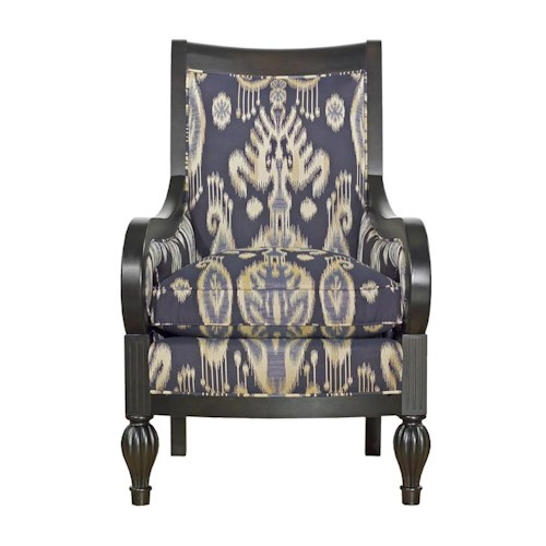 Kincaid Furniture Accent Chairs Wooden Frame Accent Chair