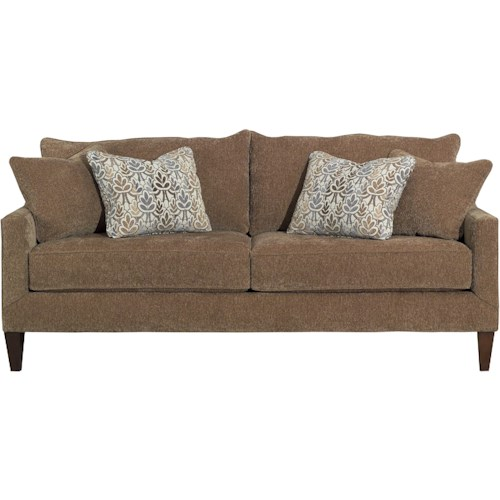 Kincaid Furniture Miami Contemporary Sofa with Sloping Track Arms