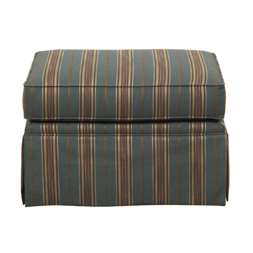 Kincaid Furniture Studio Select <b>Customizable</b> Ottoman