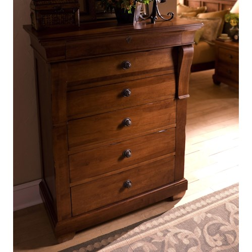 Morris Home Furnishings Tuscano Drawer Chest