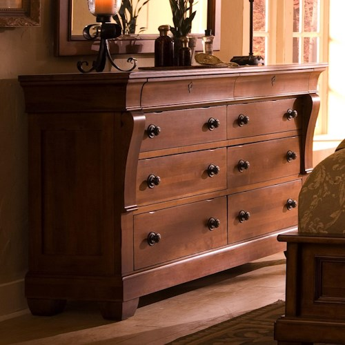 Kincaid Furniture Tuscano Bedroom Dresser with 8 Drawers