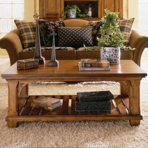 Morris Home Furnishings Tuscano Rectangular Cocktail Table