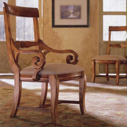 Morris Home Furnishings Tuscano Tuscano Arm Chair