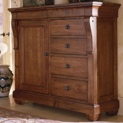 Kincaid Furniture Tuscano 6 Drawer Door Chest