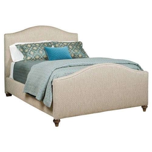 Kincaid Furniture Upholstered Beds Dover Queen Upholstered Bed