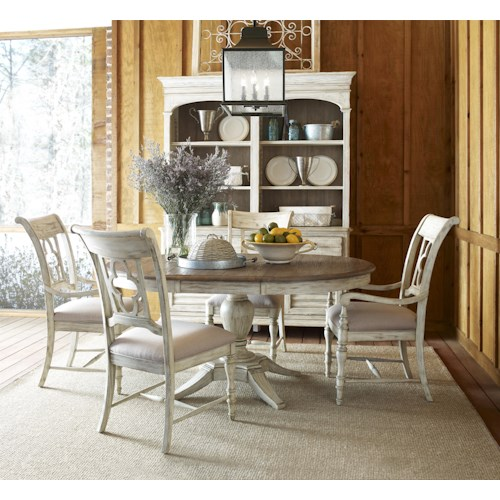 Kincaid Furniture Weatherford Formal Dining Room Group 4