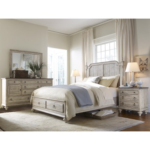Kincaid Furniture Weatherford Queen Bedroom Group 3