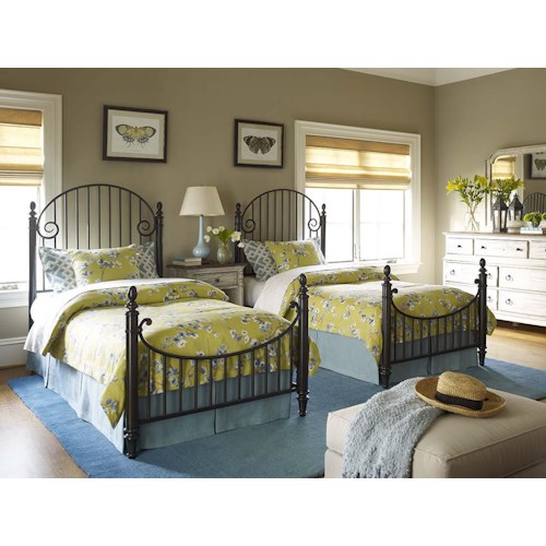 Kincaid Furniture Weatherford Twin Bedroom Group 1