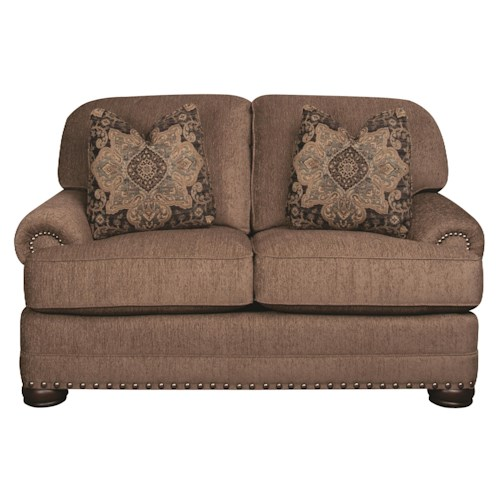 Morris Home Furnishings Duke Loveseat
