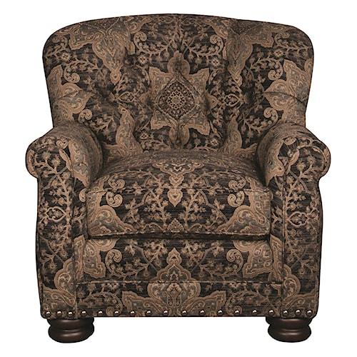 Morris Home Furnishings Duke Accent Chair
