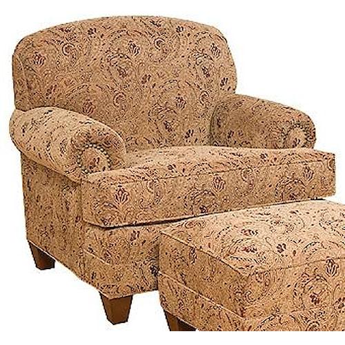 Morris Home Furnishings Callie Traditional Companion Chair