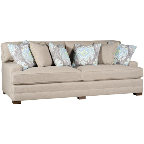 Morris Home Furnishings Casbah Casbah Fabric Stationary Sofa