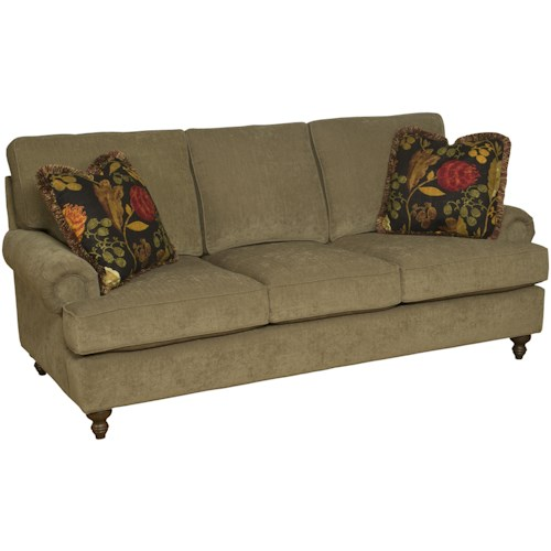 Morris Home Furnishings Chatham Customizable Stationary Sofa