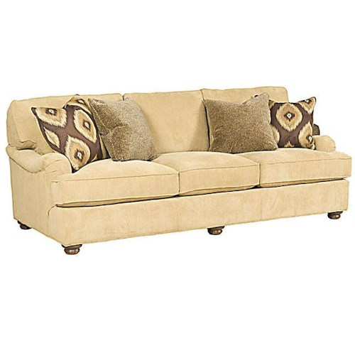 Morris Home Furnishings Henson Customizable Stationary Sofa