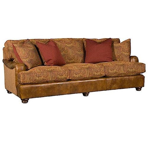 Morris Home Furnishings Henson Customizable Stationary Sofa