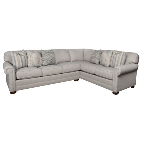 Morris Home Furnishings Jacqueline 2-Piece Sectional