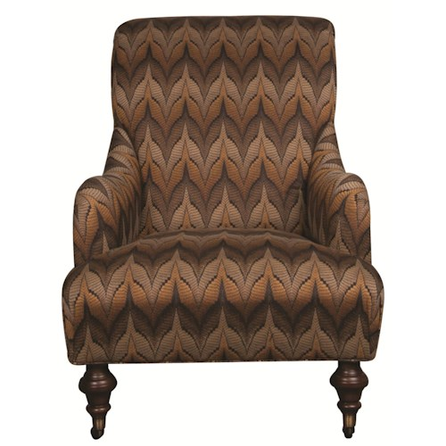 Morris Home Furnishings Jaqueline Accent Chair