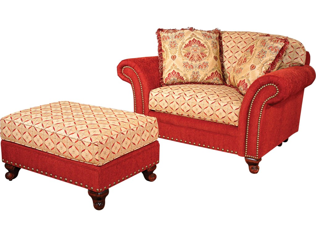 Shown with Matching Chair and a Half