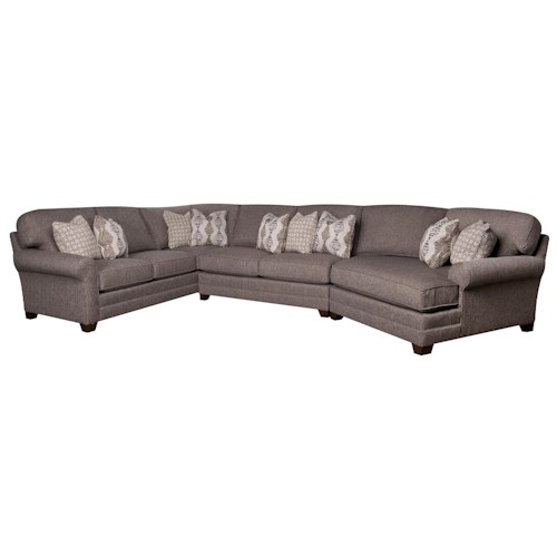 Morris Home Furnishings Mcgraw 3-Piece Sectional
