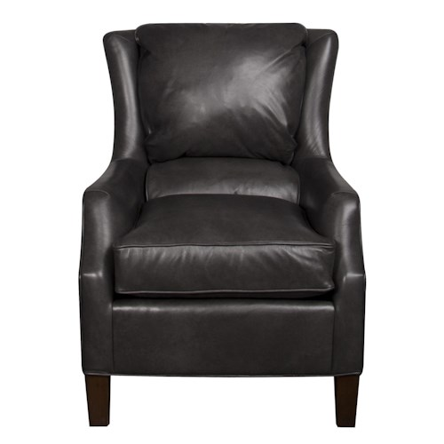 Morris Home Furnishings Sherry Leather Chair