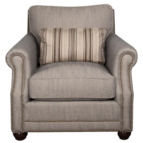 Morris Home Furnishings Sherry Fabric Accent Chair