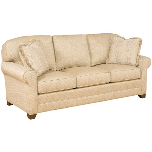 Morris Home Furnishings Veronica Customizable Upholstered Stationary Sofa