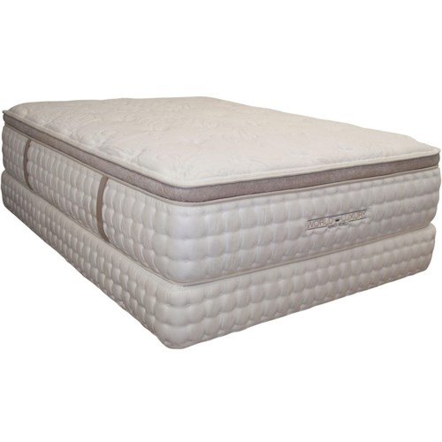King Koil World Luxury - Palermo King Luxury Pillow Top Mattress
