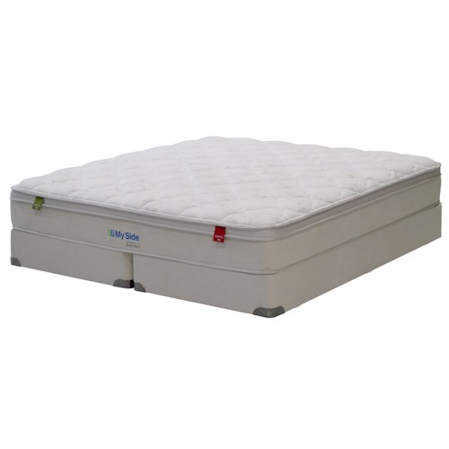 Kingsdown My Side Series 3G Twin <b> Customizable</b> Pillow Top Mattress