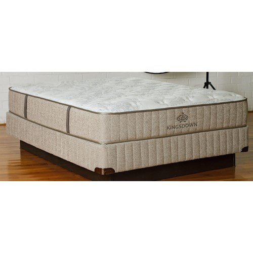 Kingsdown Sleep Haven Manaus Full Latex & Foam Mattress and 9