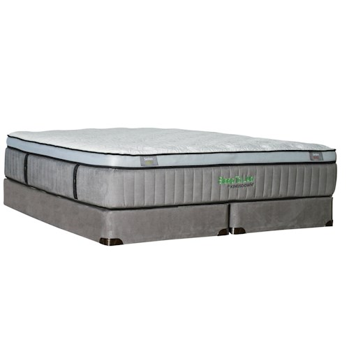 Kingsdown Sleep to Live 600 King Euro Top Mattress with Latex