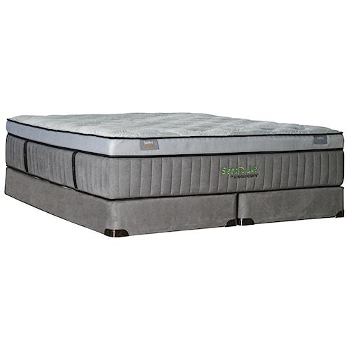 Kingsdown Sleep to Live 800 Full Luxurios Box Top Mattress and 9