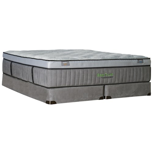 Kingsdown Sleep to Live 800 Queen Luxurios Box Top Mattress and 9