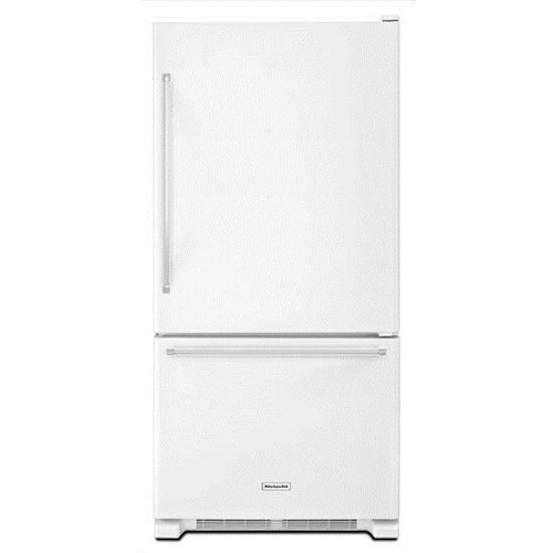 KitchenAid Bottom Mount Refrigerators Energy Star® 19 cu. ft. 30-Inch Width Full Depth Non Dispense Bottom Mount Refrigerator