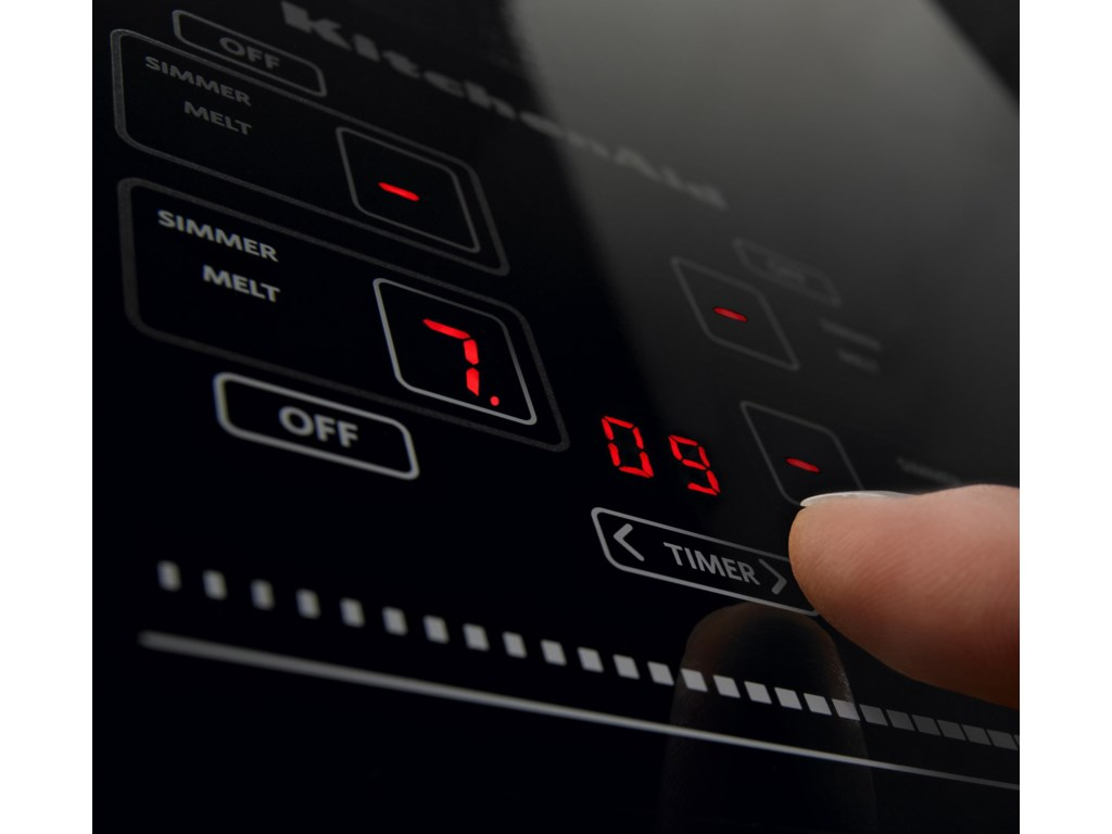 Touch-Activated Cooktop Controls