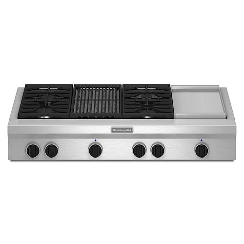 KitchenAid Gas Cooktops 48