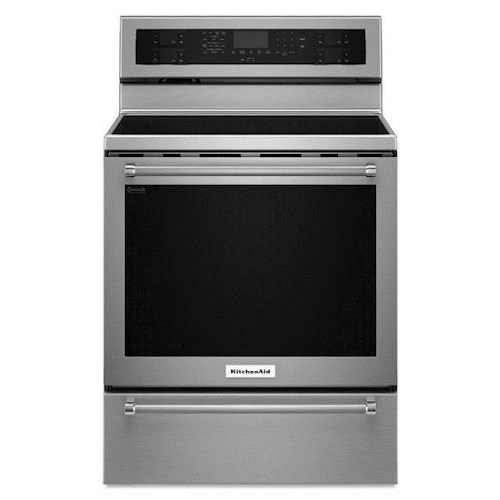 KitchenAid KitchenAid Electric Ranges 30-Inch 5 Element Electric Convection Range with Warming Drawer