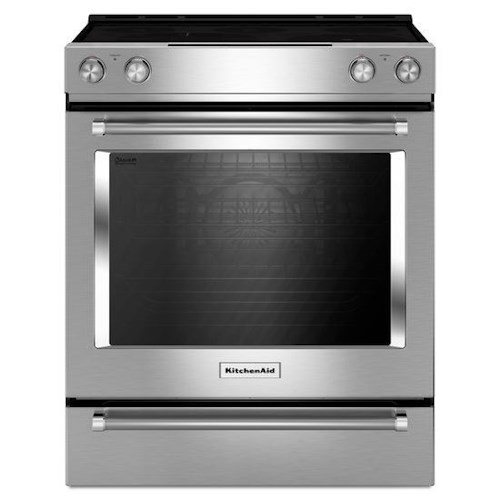 KitchenAid KitchenAid Electric Ranges 30-Inch 5-Element Electric Convection Slide-In Range with Baking Drawer
